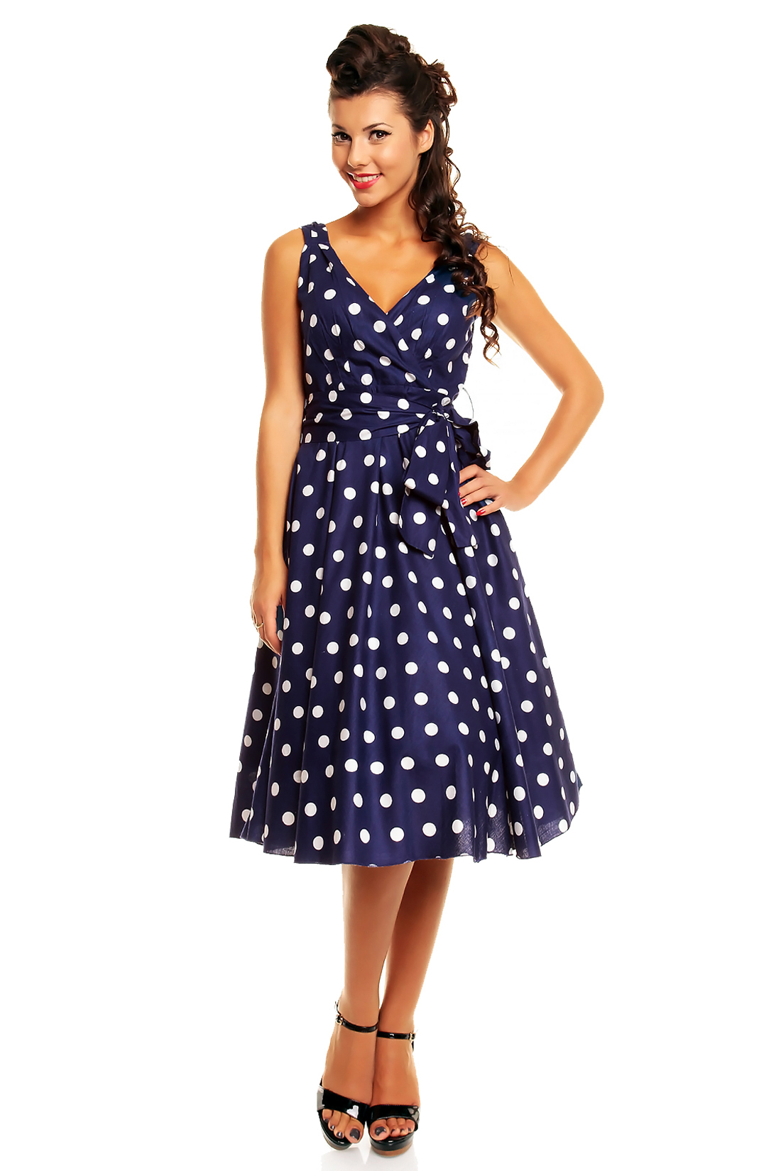 Save on Polka Dot Dresses for Women. Trending price is based on prices over last 90 days. Free People Intimately M Voile Trapeze Slip Mini Dress Lace Tunic Black Gray. Women's Polka Dot Belt Long Maxi Dress Split Cocktail Party Beach Sundress USA. $ Women Summer V Neck Polka Dot Long Dress Wrapped Lace Up High Slit Maxi Dress US.