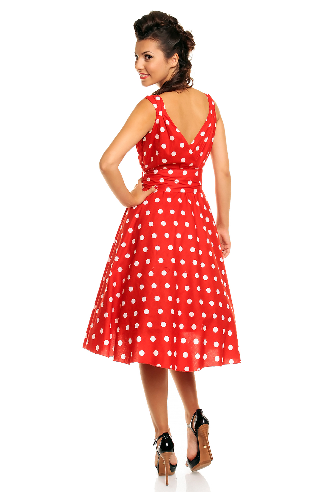 Plus Size Rockabilly Dresses Uk 15