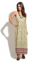 Ladies Full Length Summer Holiday Maxi Dress