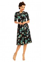 "Ladies Retro Vintage 1940's ""Maria"" Shirt Dress"