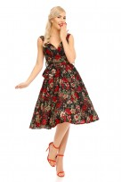 "Retro Vintage 1950s "" Marilyn"" Pin Up Swing Dress"