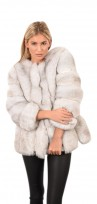Ladies Faux Fur Luxury Fluffy Warmer Jacket