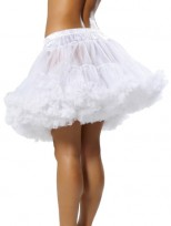 White Ladies White Petticoat Tu Tu Underskirt