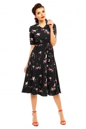 7ed1757a10d76 Ladies Retro Vintage 40's Style